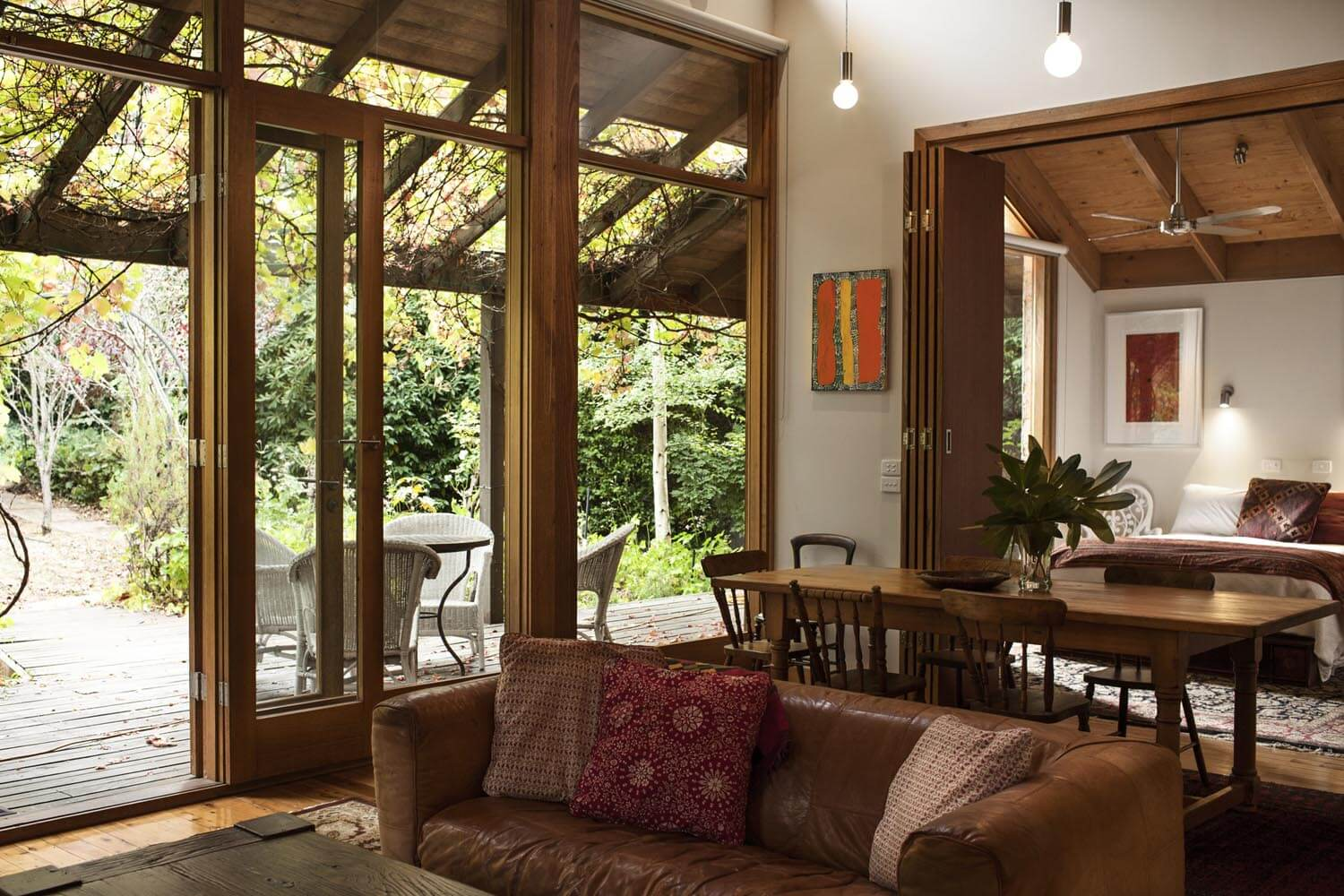 Natural views and comfort at Georgie Gardens, Daylesford