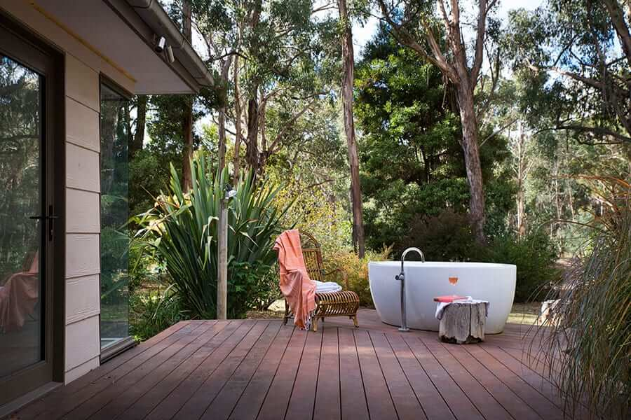 Bathing in comfort and wellness at Lorien, Daylesford