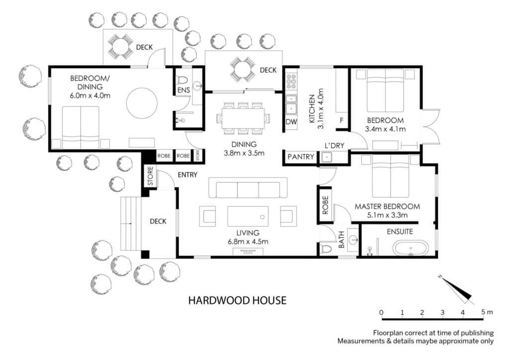 Hardwood House